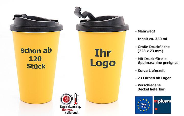 Mehrweg Coffee To Go Becher Mit Druck Schon Ab 120 Stuck