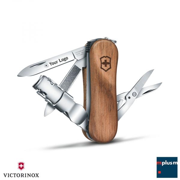 Victorinox Schweizer Messer 'Nail Clip Wood 580'