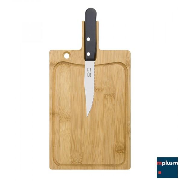 Richartz Steakmesser und Holzbrett Set