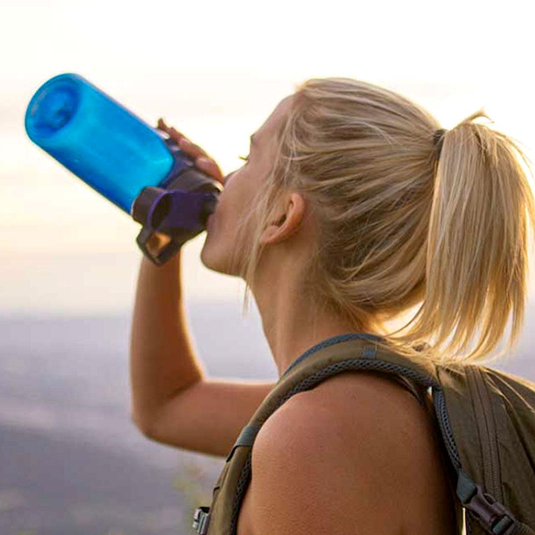 Outdoor Flasche von Camelbak mit Logo Druck