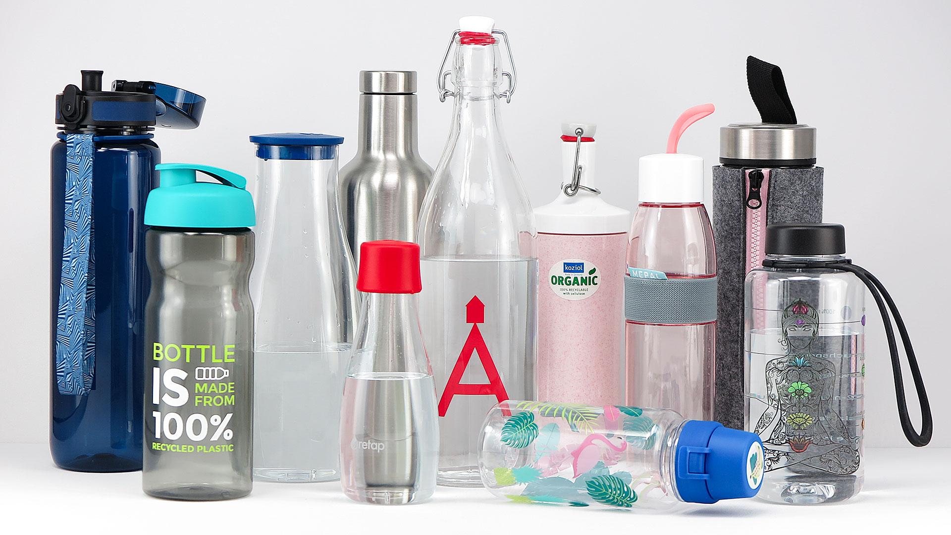 Nachhaltige Trinkflaschen mit Logo oder Motiv bedrucken