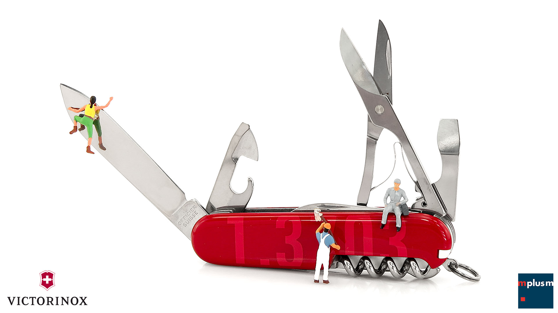 Schweizer Taschenmesser von Victorinox als Werbeartikel