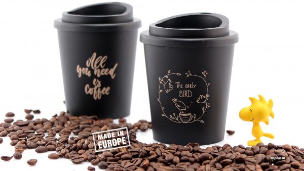 Mehrweg Kaffeebecher bedrucken