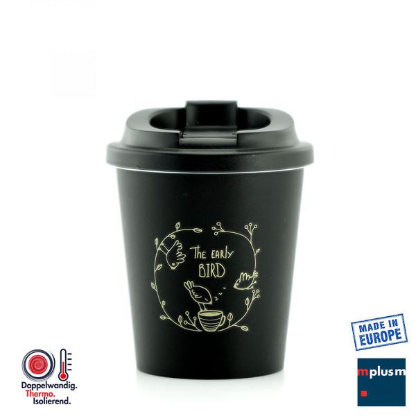 Coffee To Go Mehrweg Thermo-Becher mit Logo als Werbeartikel