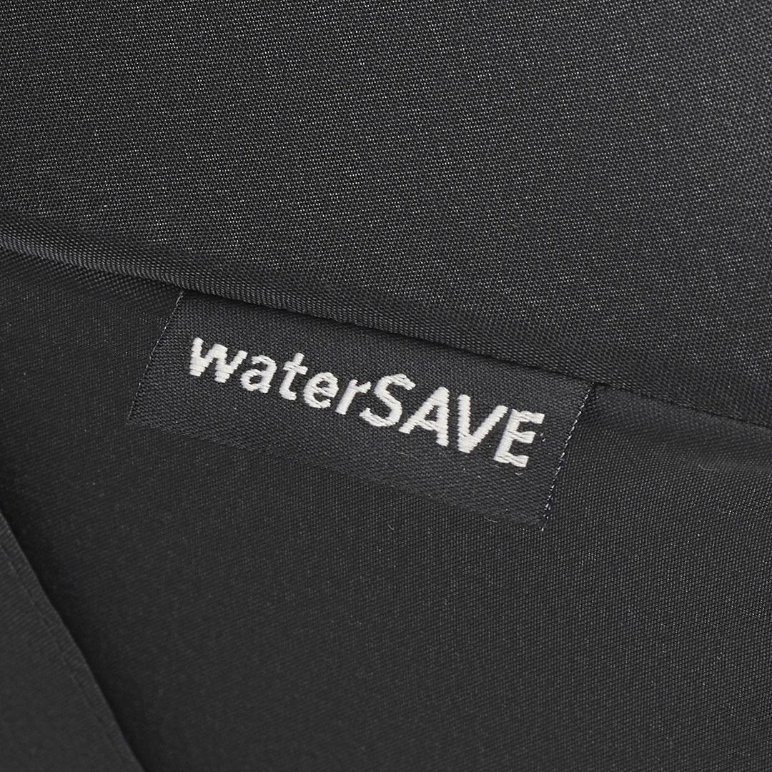 Wasser sparen bei Schirmen