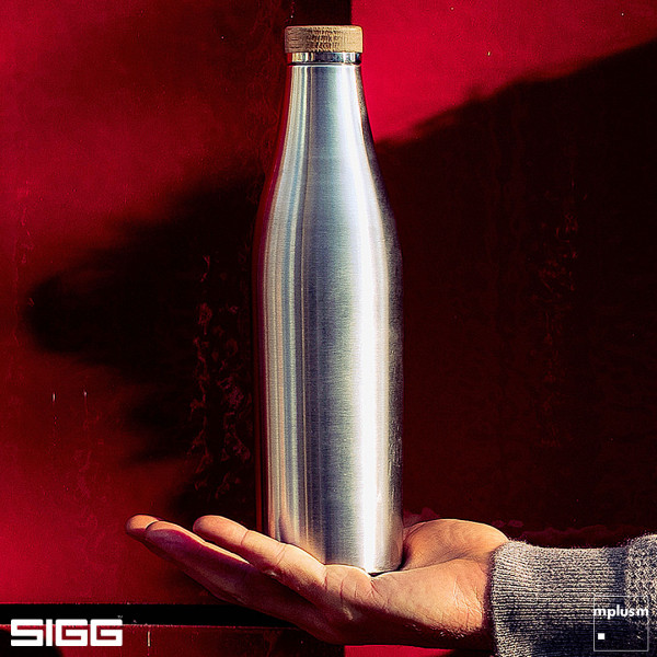 SIGG 'Meridian' Edelstahl Thermosflasche