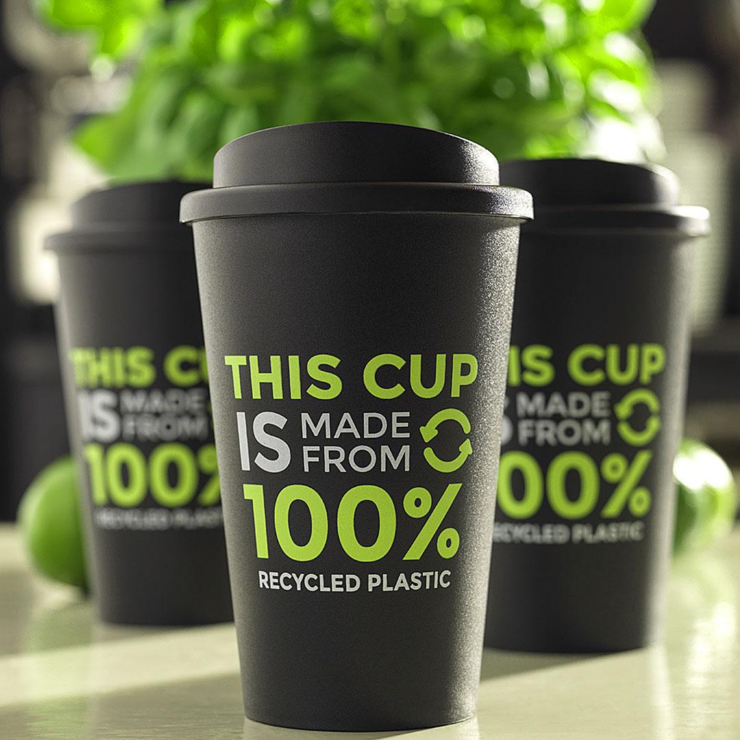 Nachhaltige Coffee To Go Becher als Werbeartikel
