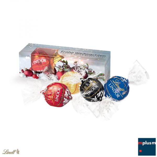 Lindt Schokoladen Geschenk zu Weihnachten.