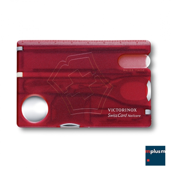 Victorinox 'Swiss Card'. Das Schweizer Messer im Scheckkartenformat.