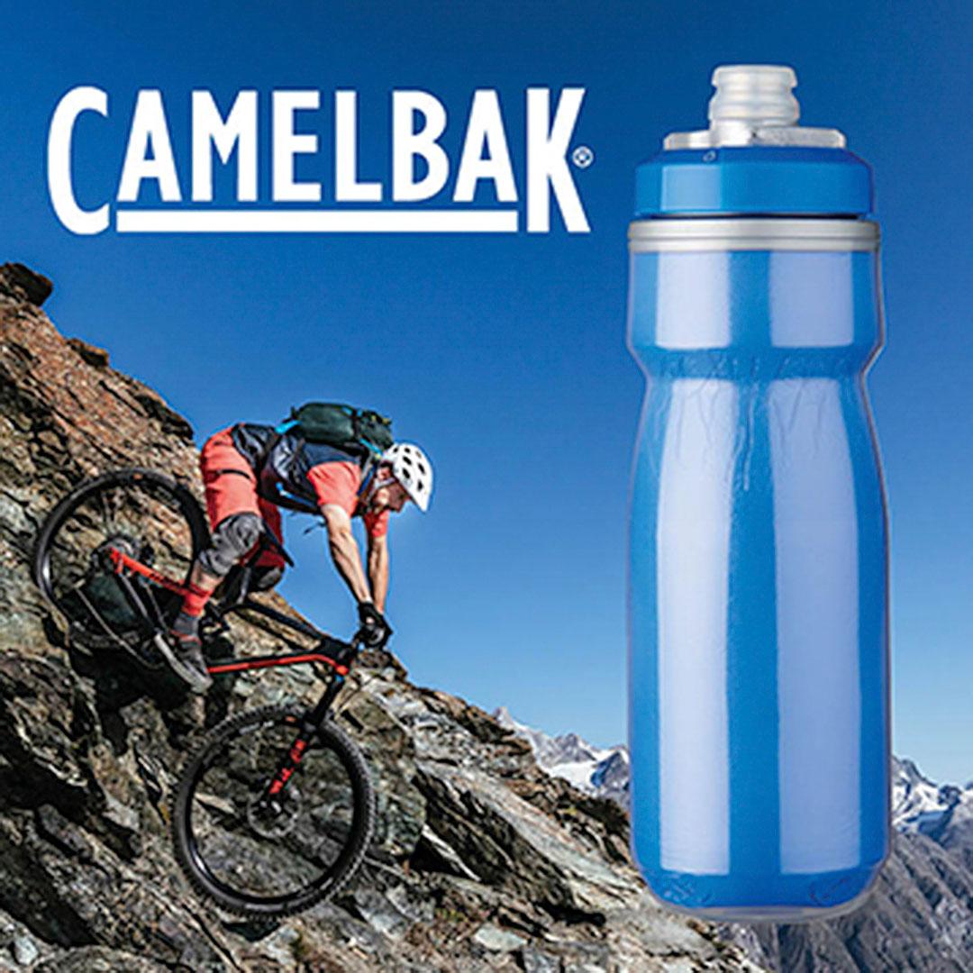 Trinkflasche Camelbak mit Logo