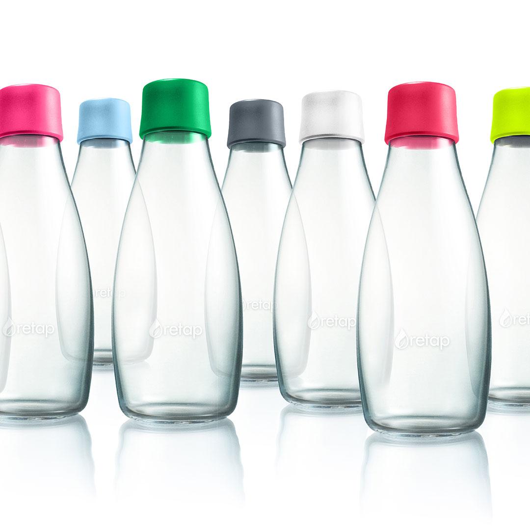 Nachhaltige Mehrweg Flaschen als Werbeartikel
