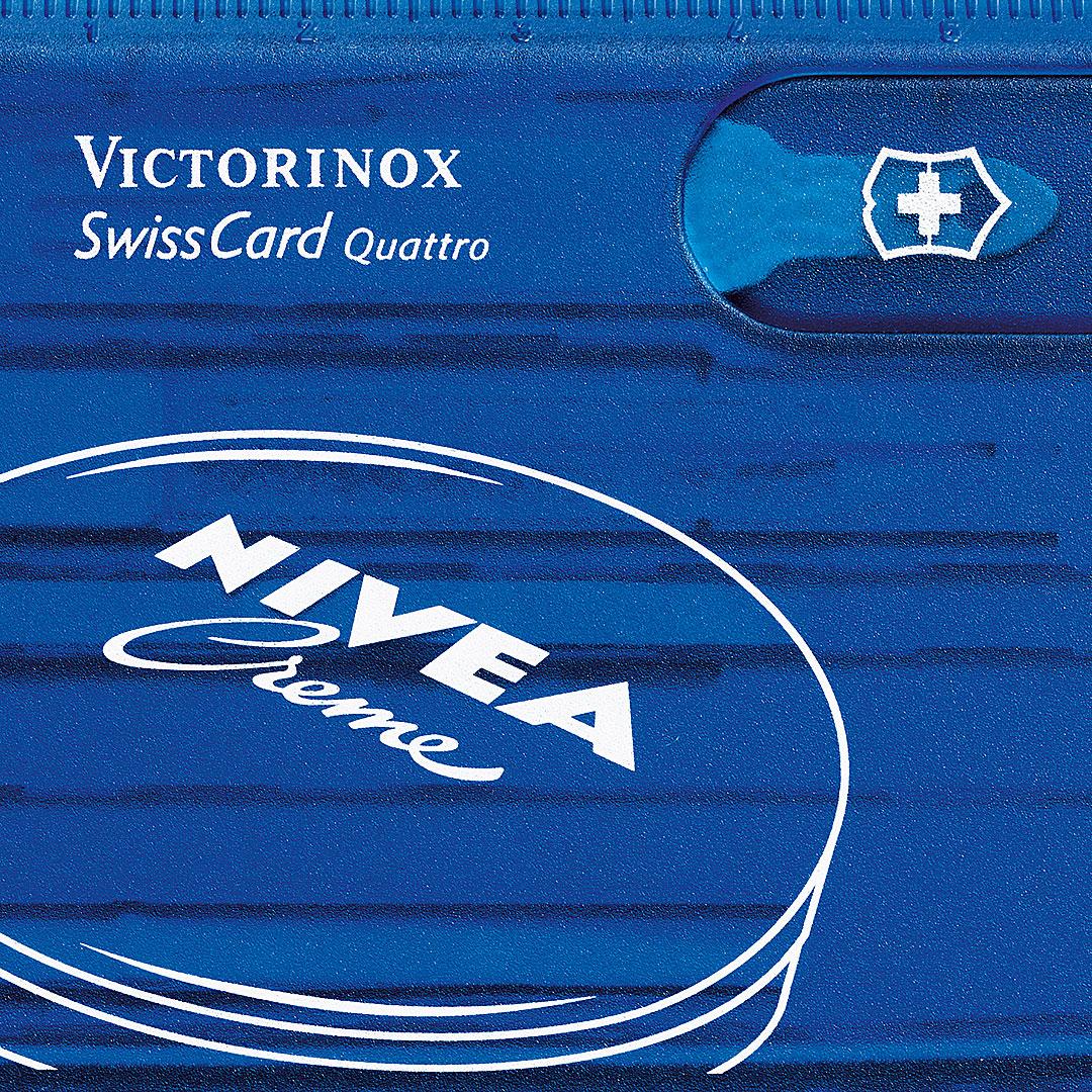 Swiss Card von Victorinox mit Logo Druck