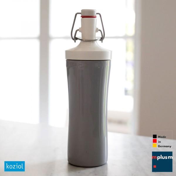 Die Trinkflasche Plopp To Go von Koziol ist als Werbeartikel in vielen Farben lieferbar.
