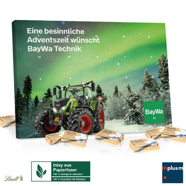 Tisch Adventskalender Lindt 'Select Edition' Organic