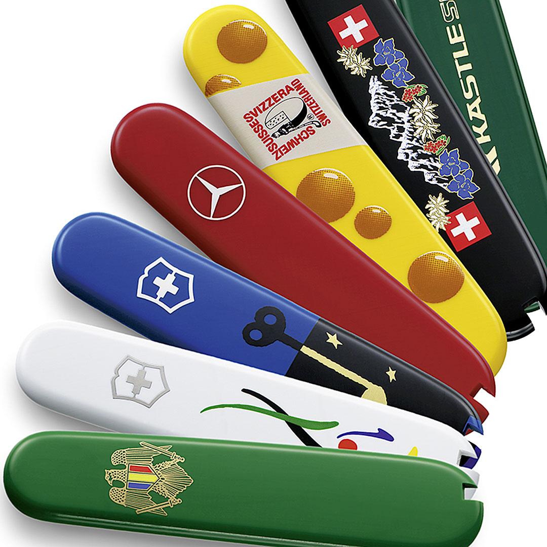 Schweizer Messer Werbeartikl