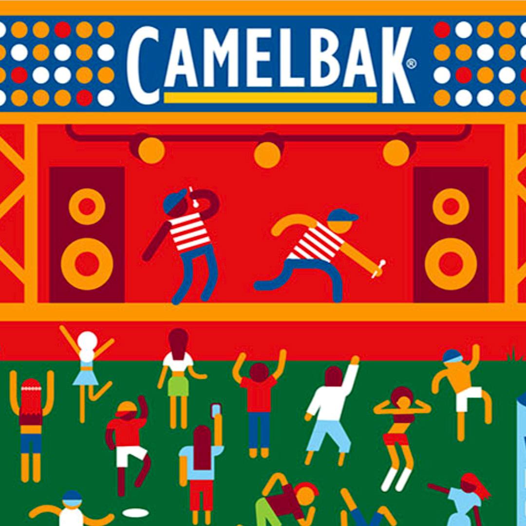 Camelflasche mit Logo bedrucken