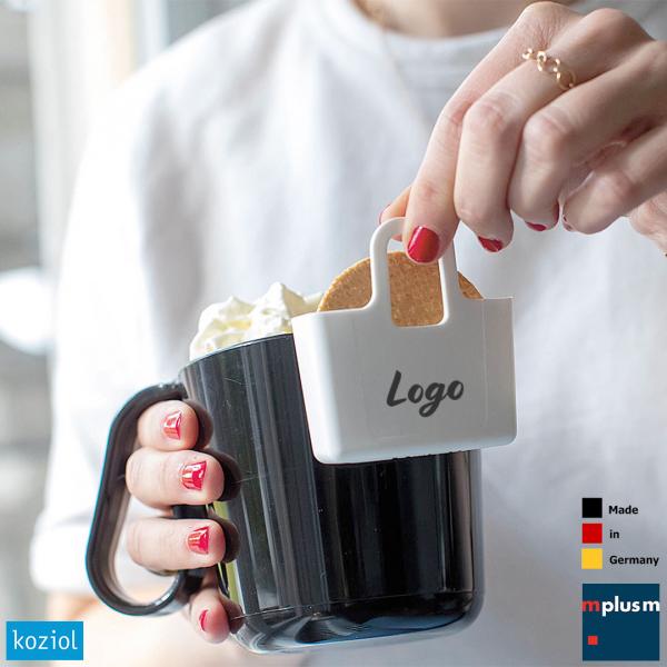 Passt an jede Tasse: Die kleine und preiswerte Tassen-Tascashe Lilli. Für den Teebeutel oder einen Keks. oder
