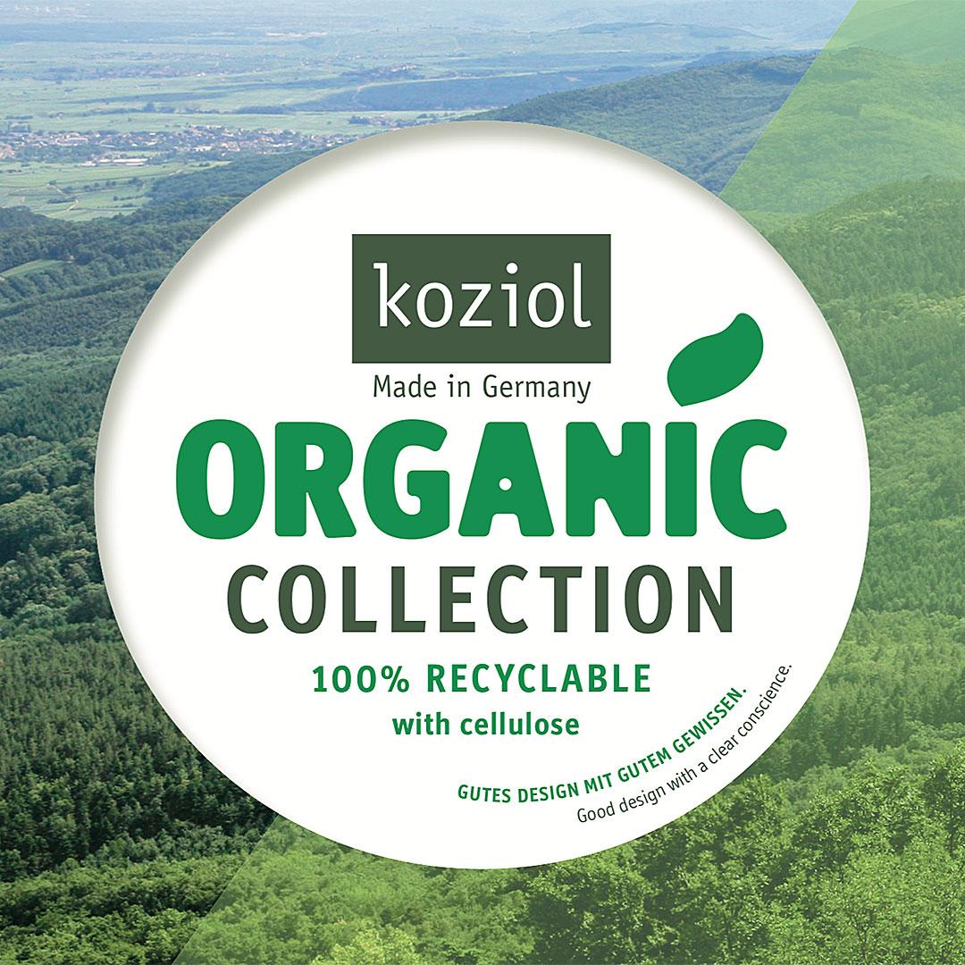 Nachhaltiger Koziol Organic Biokunststoff für Werbeartikel