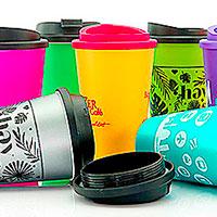 Kaffeebecher Mehrweg bedrucken