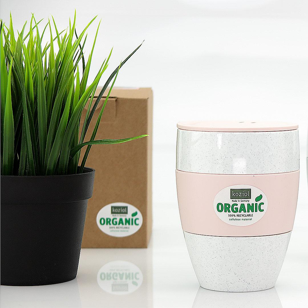 Nachhaltige Mehrweg Kaffeebecher von Koziol