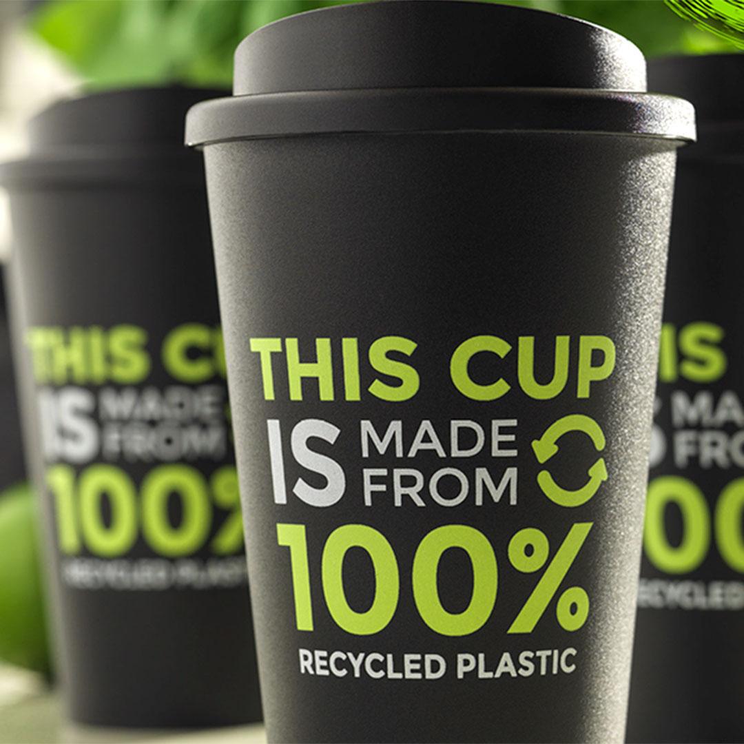 Recycling Kaffeebecher aus Europa