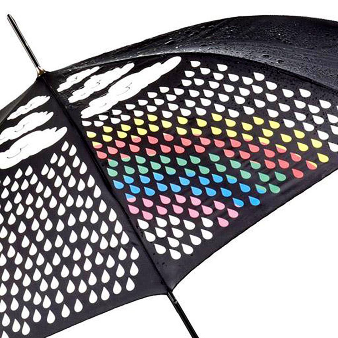 Schirm mit Reaktivdruck Motiv