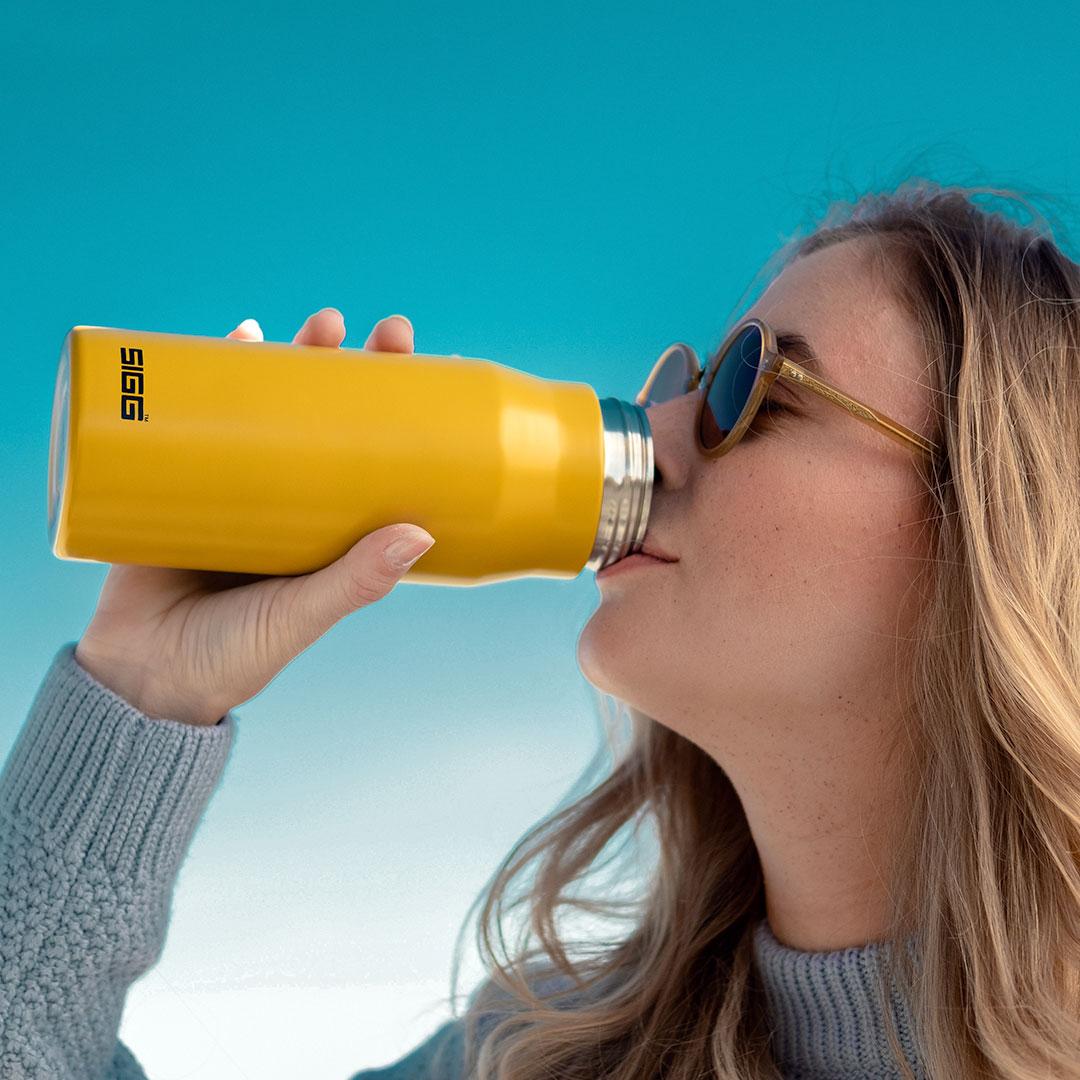 SIGG Flasche als Werbeartikel mit Logo bedrucken