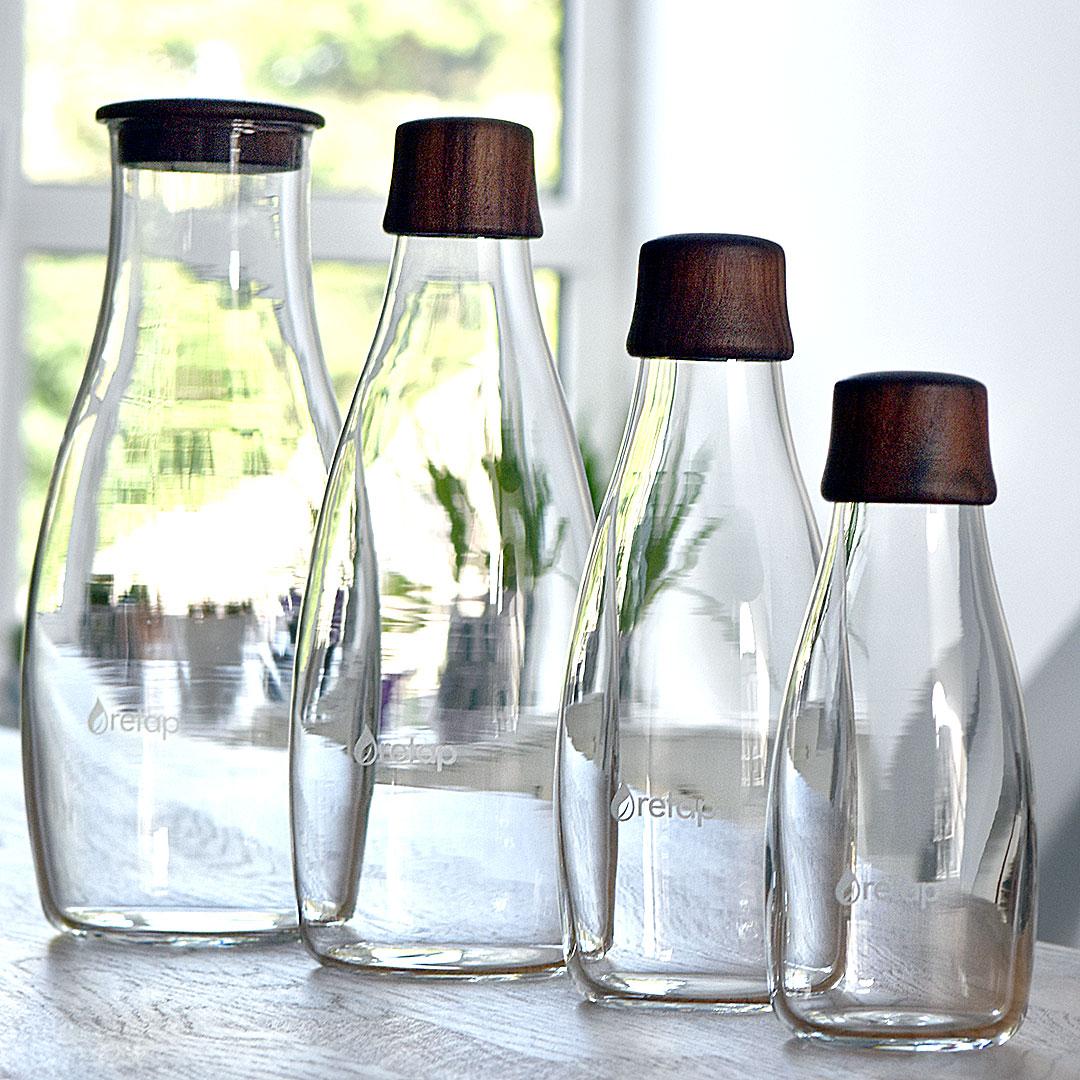 Retap Glas Flaschen aus Europa
