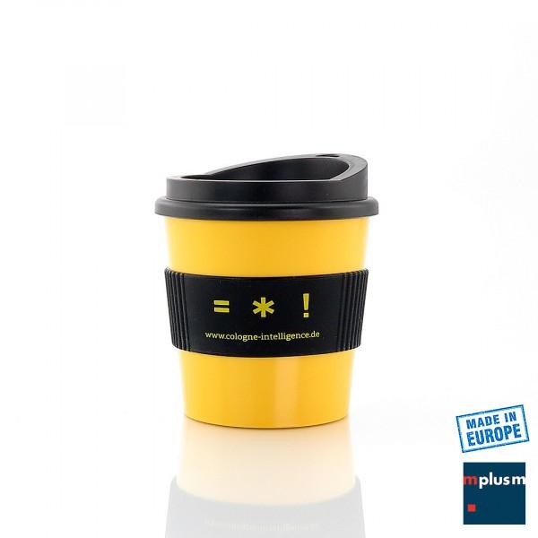 Kleiner Mehrweg Coffee To Go Becher 'Mokka'