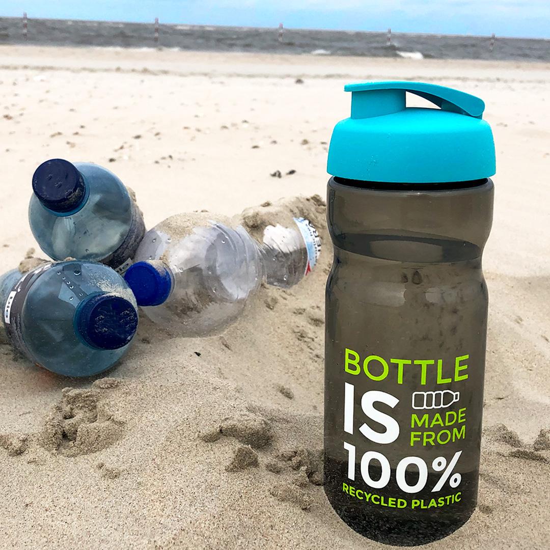 Nachhaltige Werbeartikel Recycling Trinkflasche
