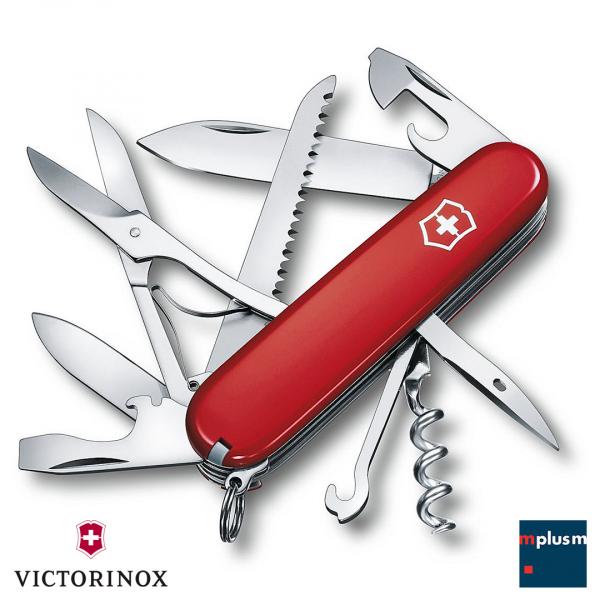 Schweizer Taschenmesser Huntsman von Victorinox als nachhaltiger Werbeartikel mit Logo bedrucken