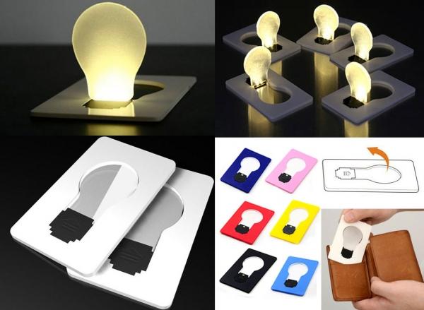 LED-Kreditkarte-Mailing-Werbeartikel