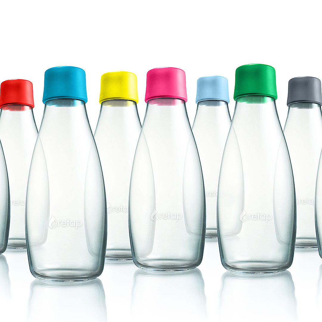 Retap Mehrweg Wasserflasche bedrucken
