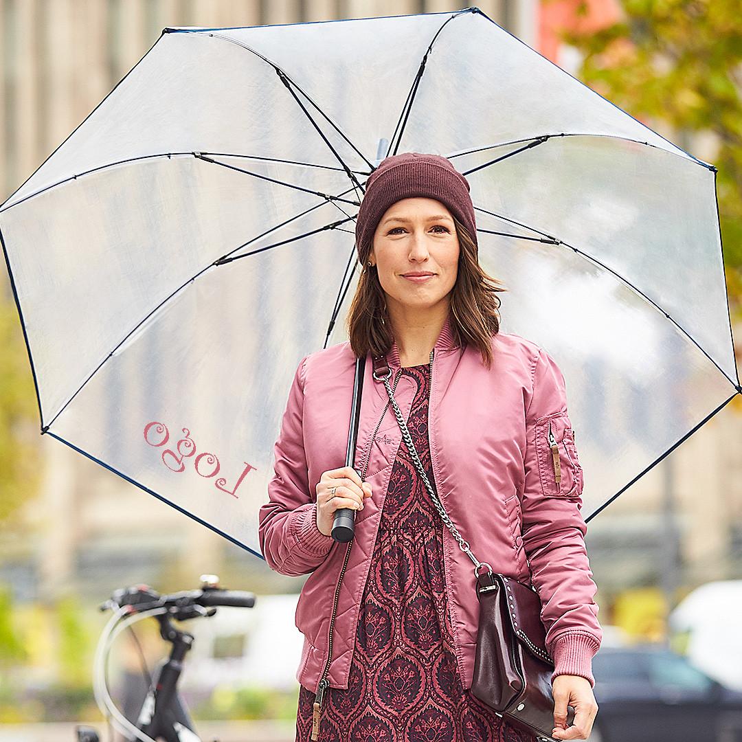 Nachhaltige Schirme bedrucken