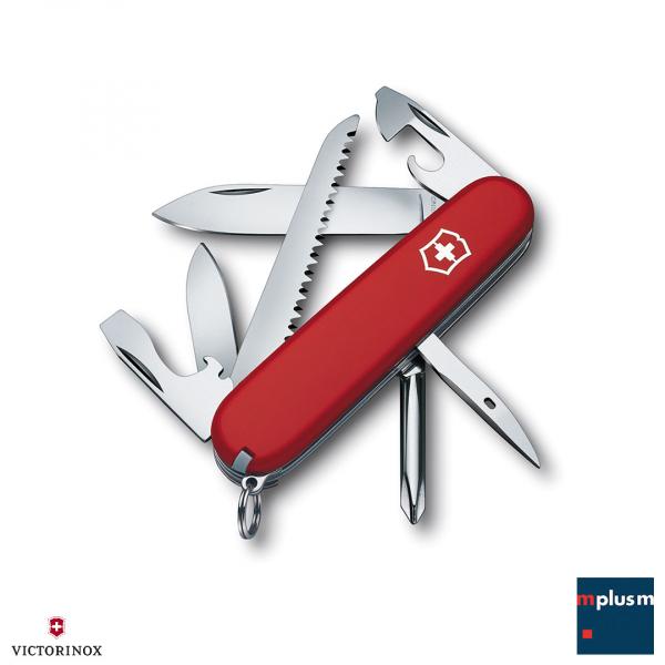 Schweizer Taschenmesser Hiker von Victorinox als nachhaltiger Werbeartikel ab 40 Stück mit Logo bedrucken