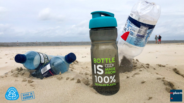 Nachhaltige Weerbeartikel Recycling Trinkflasche