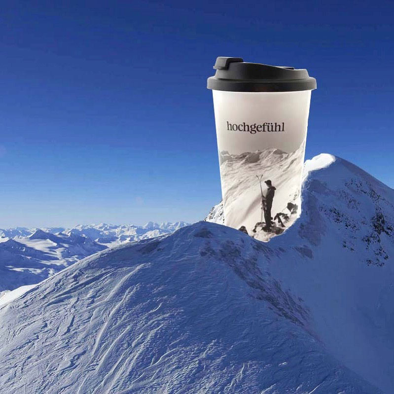 Thermo Kaffeebecher mit Logo bedrucken