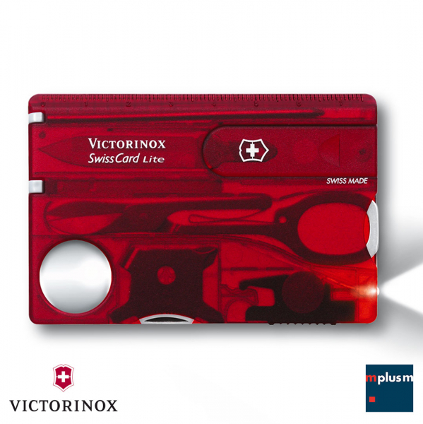 Schweizer Taschenmesser Swiss Card Lite. Werbeartikel Swiss Made. Aus Europa.