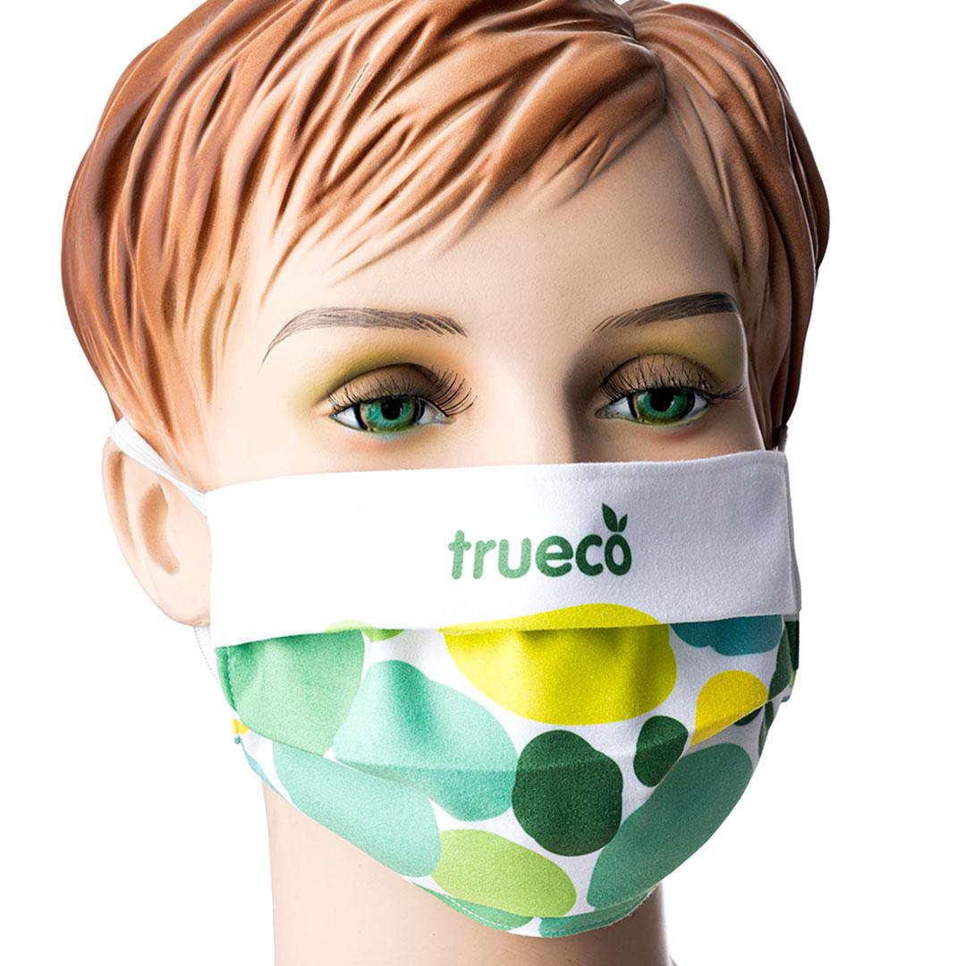 Community Alltags Maske mit Logo bedrucken
