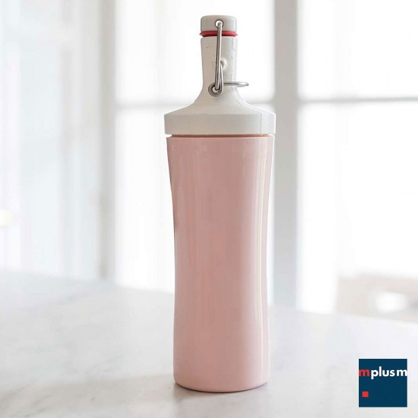 Nachhaltige Mehrweg Trinkflasche Plopp To Go von Koziol. Organic Bio-Kunststoff und schön mit Logo zu bedrucken.
