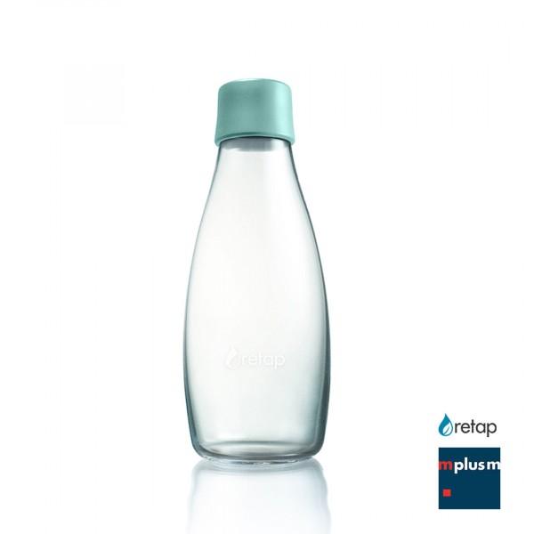 Retap Mehrweg Glas Wasserflasche 05 als nachhaltiger Werbeartikel mit Logo bedrucken