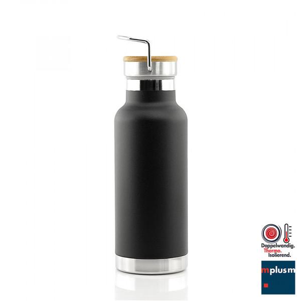 Edelstahl Thermosflasche mit Super Isolierung. Hält stundenlang warm oder kalt. Perfekt mit Logo zu bedrucken oder zu gravieren.