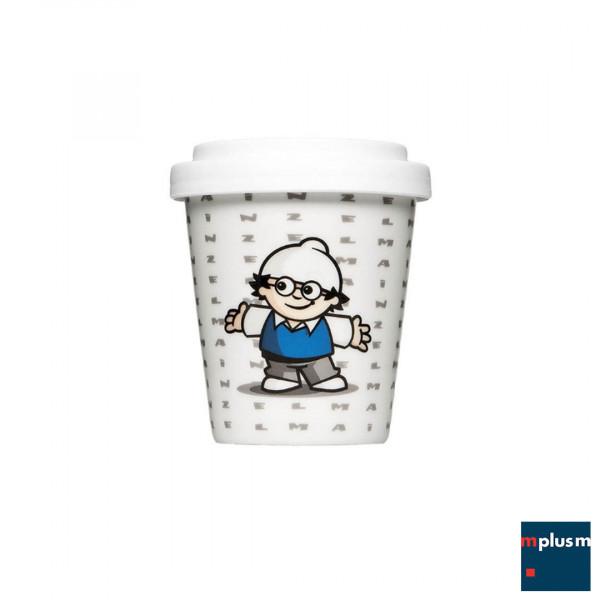 Kleiner Porzellan Espresso To Go-Becher