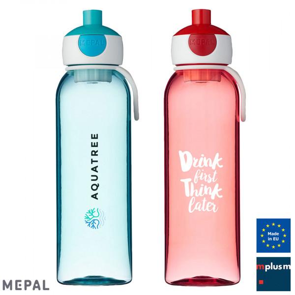 Nachhaltige Mepal Trinkflasche Campus schon ab 25 Stück mit Logo zu bedrucken