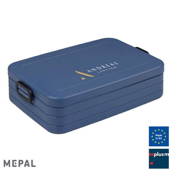 Große Lunchbox Take a Break von Mepal Made in Europe mit eigenem Logo bedrucken