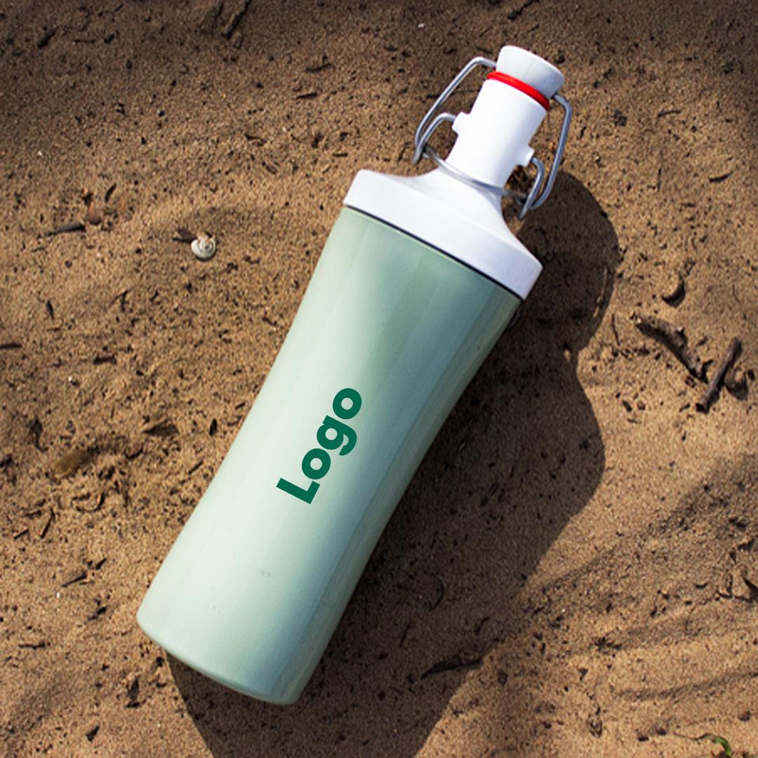 Nachhaltige Flasche Plopp To Go Werbeartikel