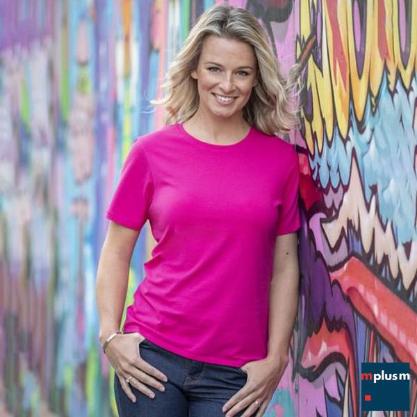 Damen T-Shirt bedrucken. Einsetzbar als: Werbeartikel oder Onboarding Artikel o