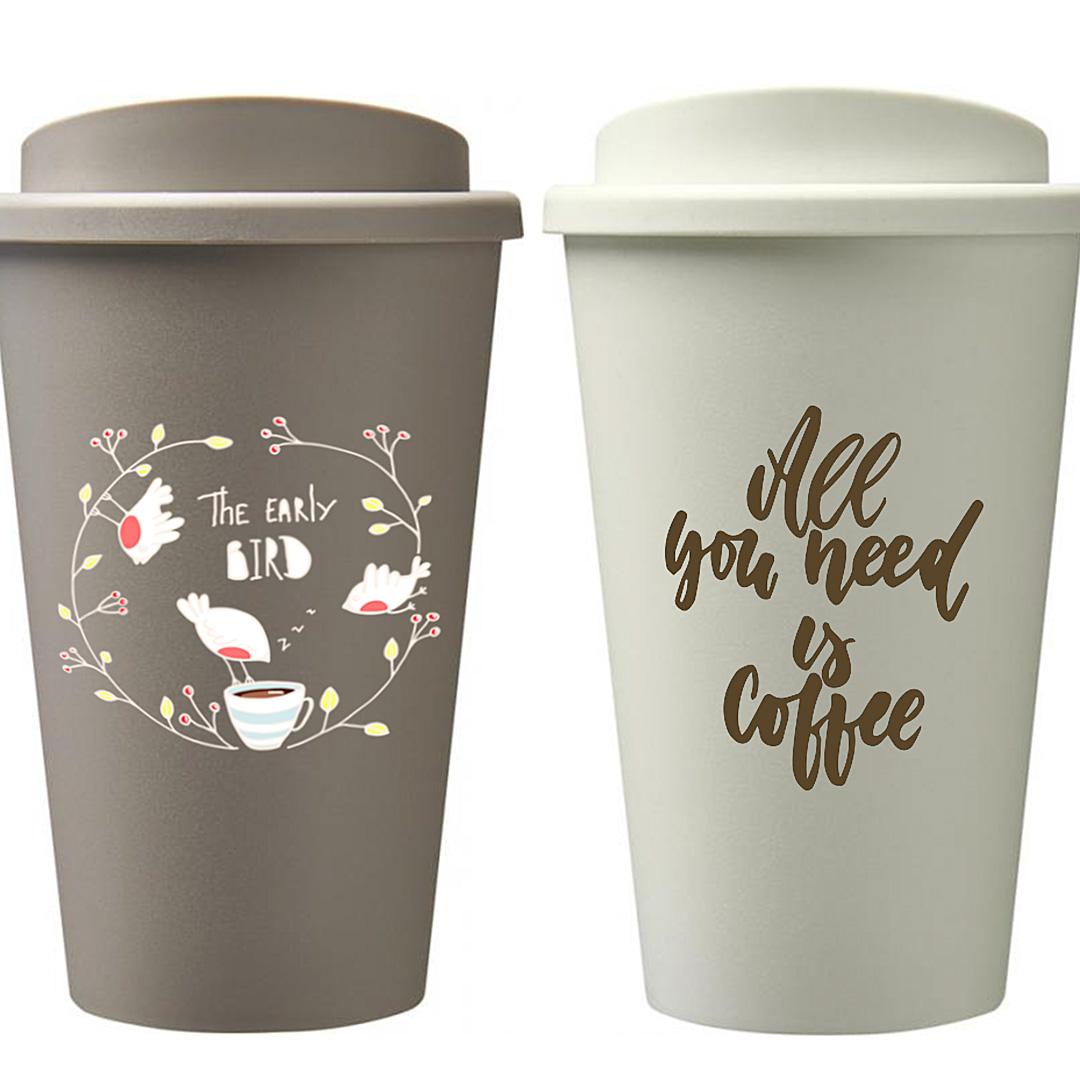 Nachhaltiger Coffee To Go Becher Americano