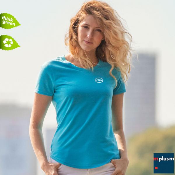 Damen T-Shirt Jade aus Recycling Material