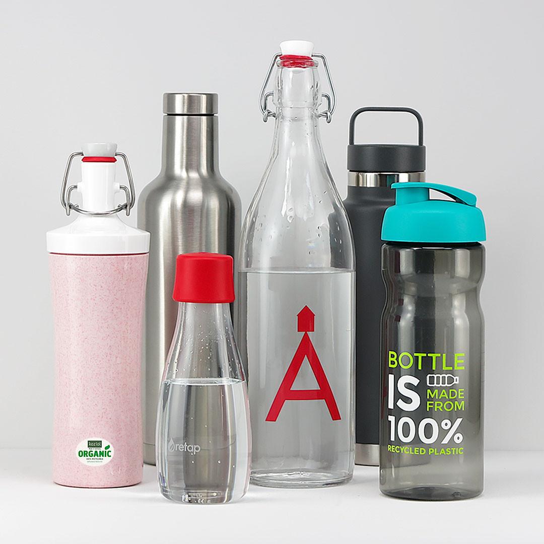 Nachhaltige Flaschen mit Logo bedrucken Werbeartikel